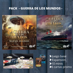 PACK GUERRA DE LOS MUNDOS